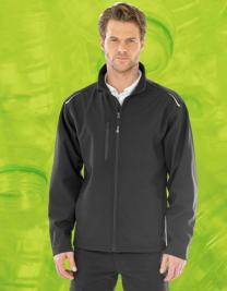 Recycled 3-Layer Printable Softshell Jacket
