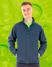 Mens Recycled 2-Layer Printable Softshell Jacket