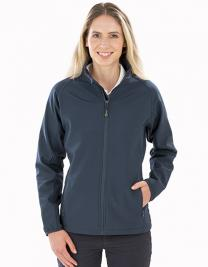 Women´s Recycled 2-Layer Printable Softshell Jacket